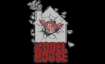 Alternative Modelling Logo. Model House Logo
