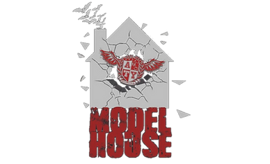 Alternative Modelling Logo. Model House Logo
