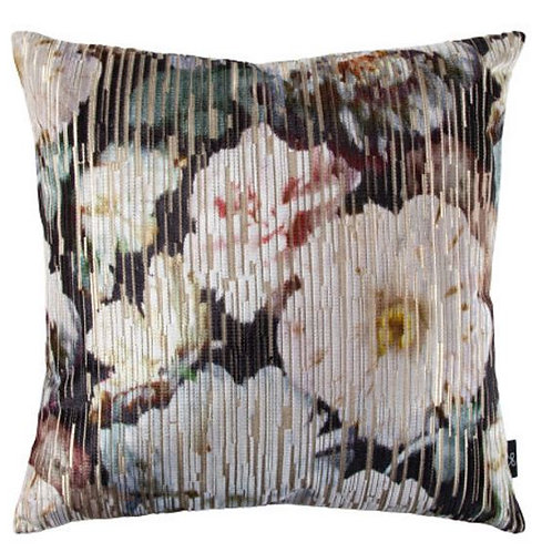 Digital Floral Pillow