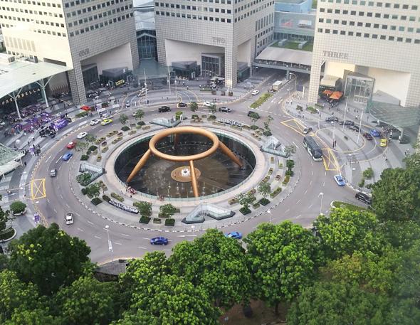Singapur Suntec City Fountain of Wealth