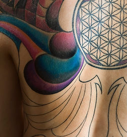 Tattooed Back
