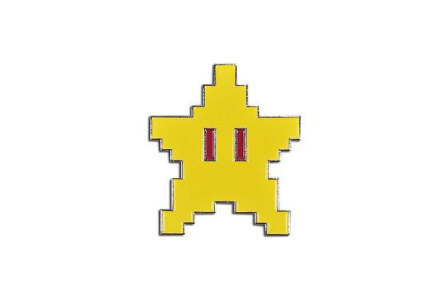 Pin Estrella Mario Bros