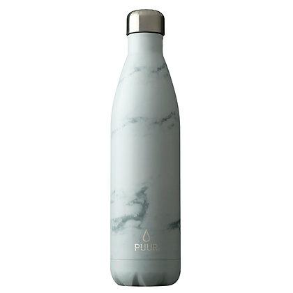 Puur Bottle White Marble 750 ml