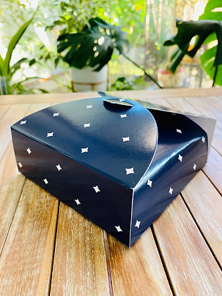 Caja Azul Estrellas
