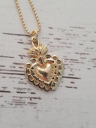 Collar Sagrado Corazón M