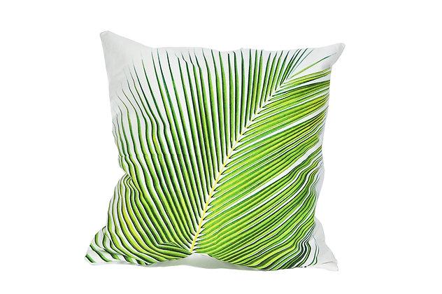 Cojín Palma verde