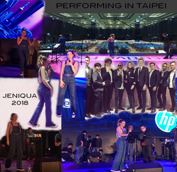 Performing in Taipei 2018