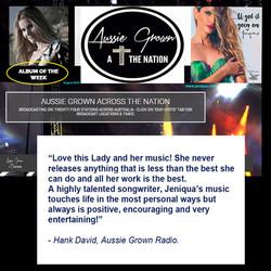 Album of the week (Aussie Grown Radio)