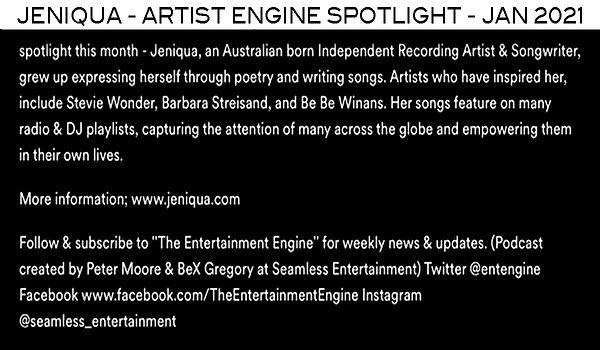 Artist Spotlight Feature on The Entertai