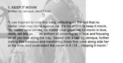 Jeniqua EP 'KEEP IT MOVIN'