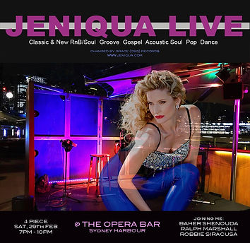 Jeniqua Live (4 Piece Sat, 29th Feb 2020