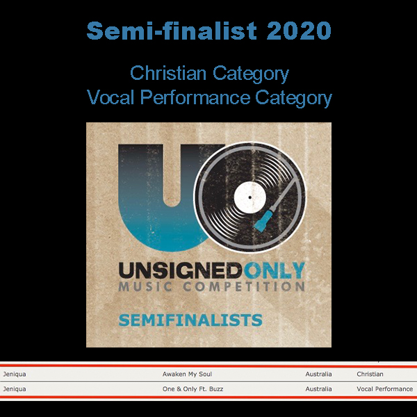 Semi-finalist in 2 Categories