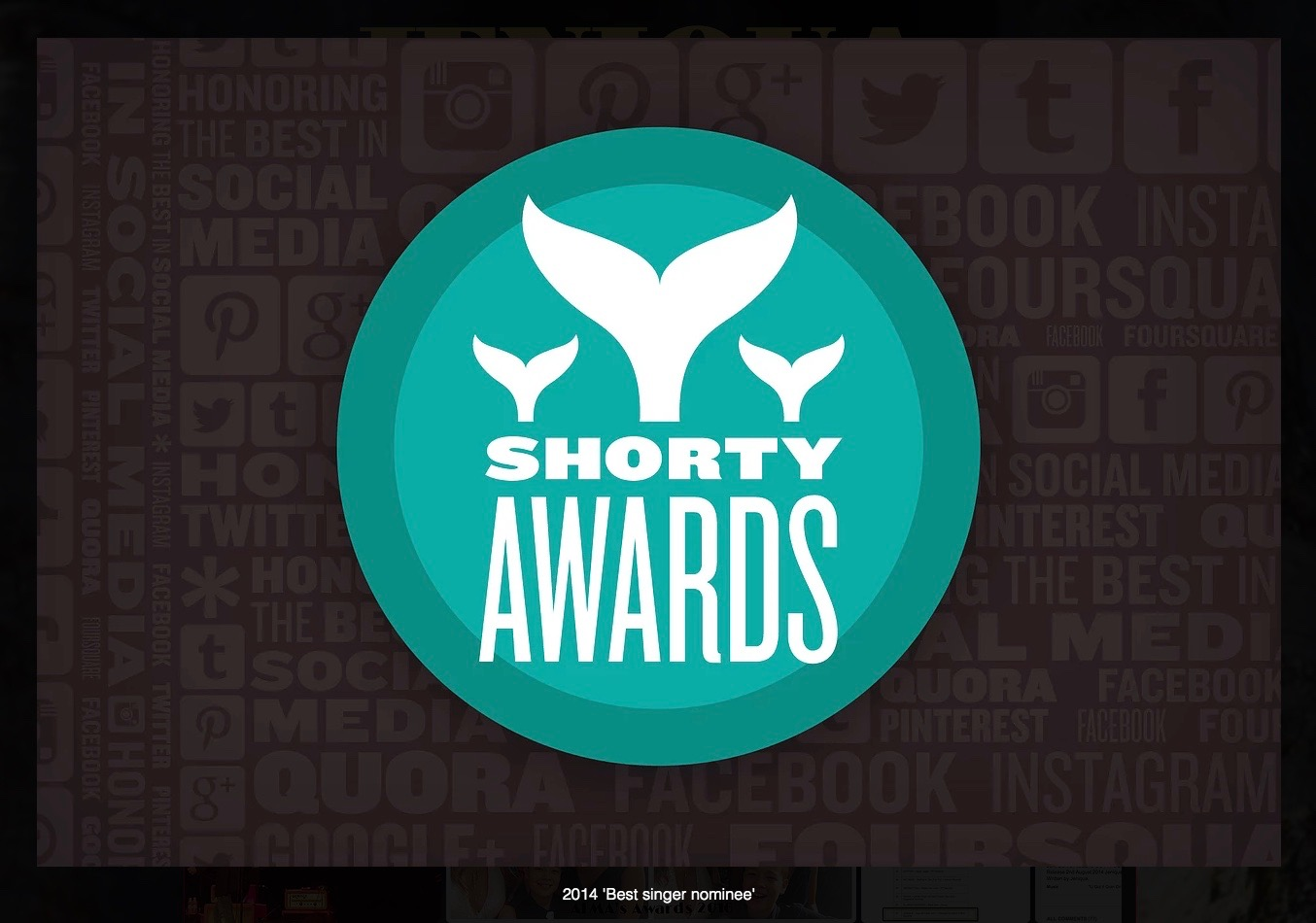 Shorty Award Nominee 2014