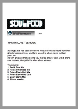 SOULFOOD Review (Making Love) 2011