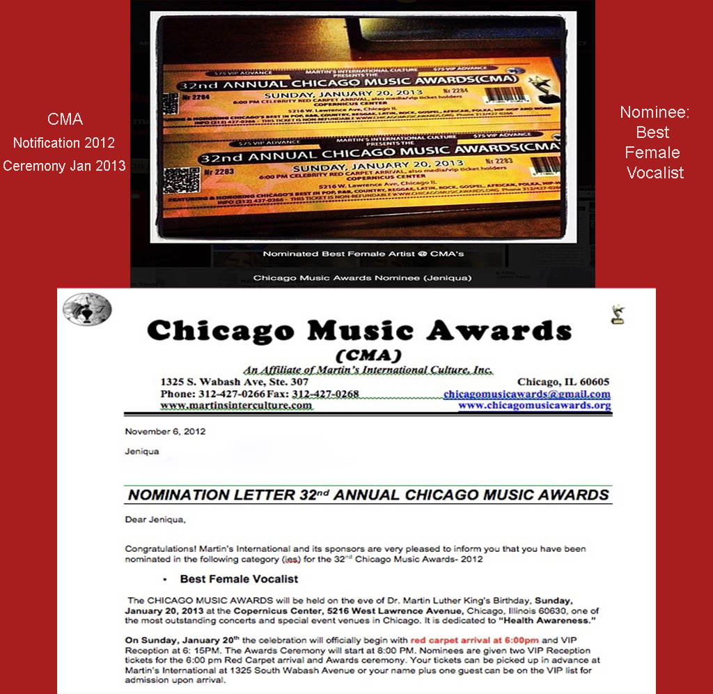 32nd Chicago Music Awards 2012