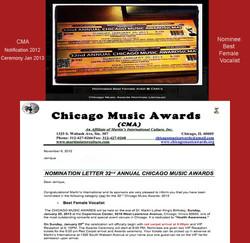 32nd Chicago Music Awards 2012