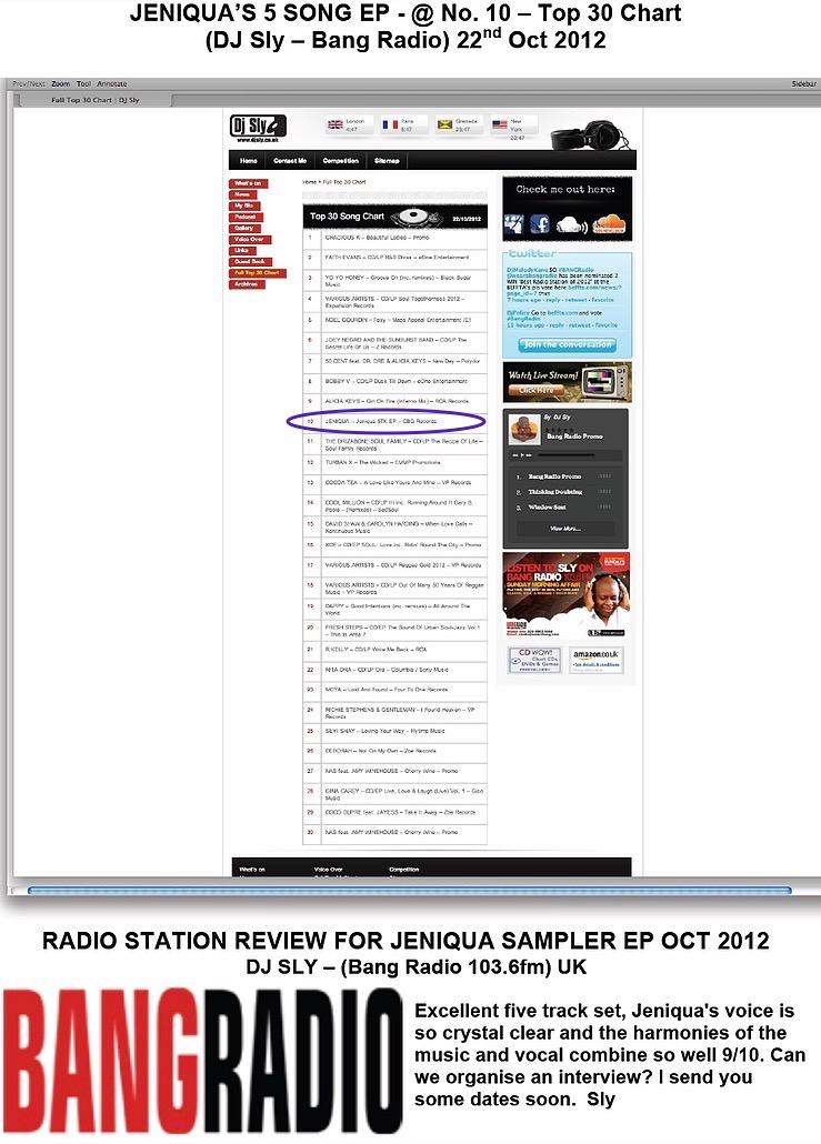 Bang Radio UK (Top 30 Song Chart)