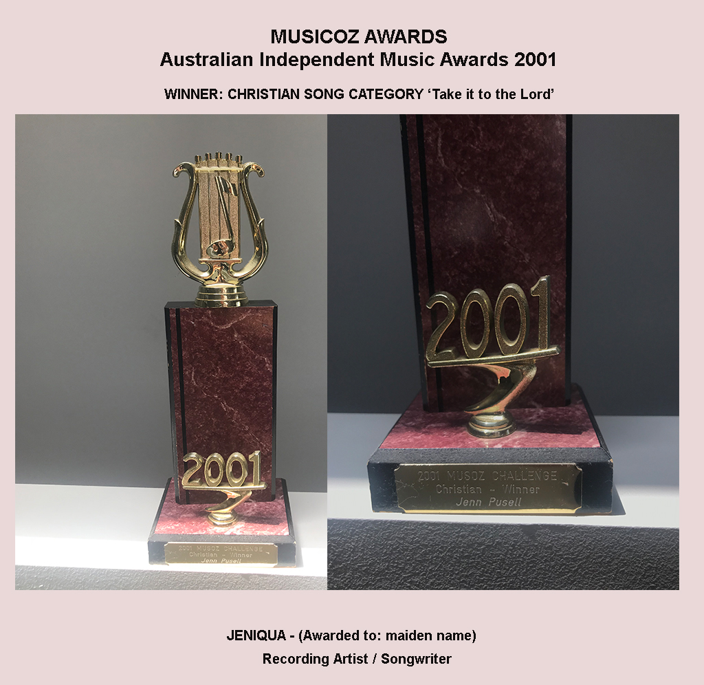 Jeniqua (Musicoz Awards 2001 WINNER)
