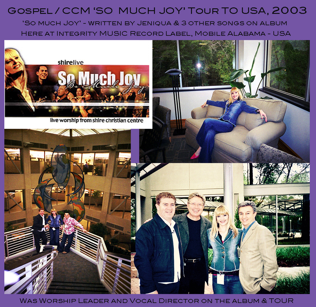 Gospel CCM Tour to USA 2003