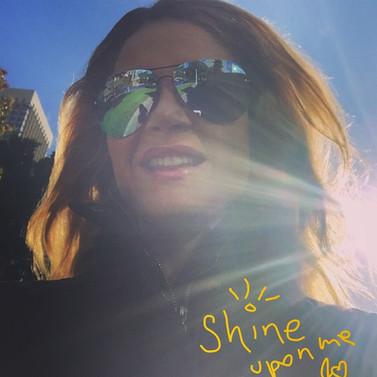 Shine upon me