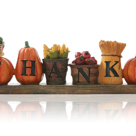 Holiday Corner: Giving Thanks - What We are Thankful For