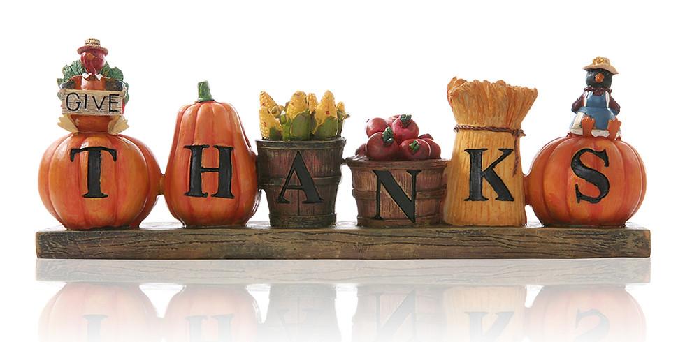 Thanksgiving Day Virtual Yoga