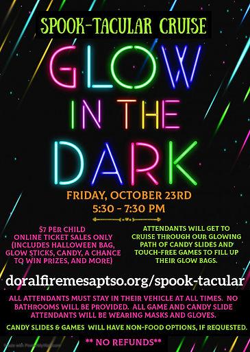 Glow in the dark spook-tacular cruise fl