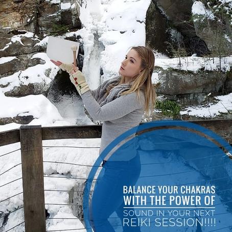 Balance Your Chakras With Reiki!!