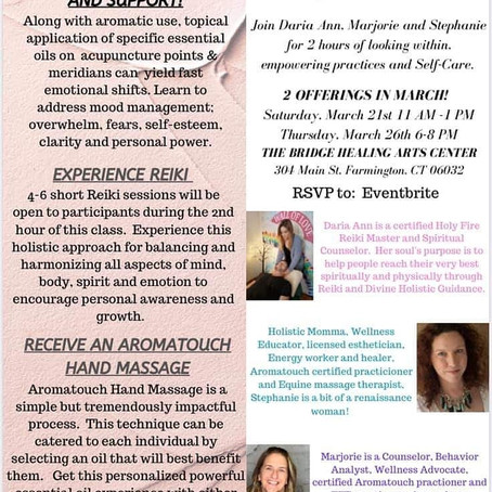 döTERRA and Enchanted Flower Healing Events!!!