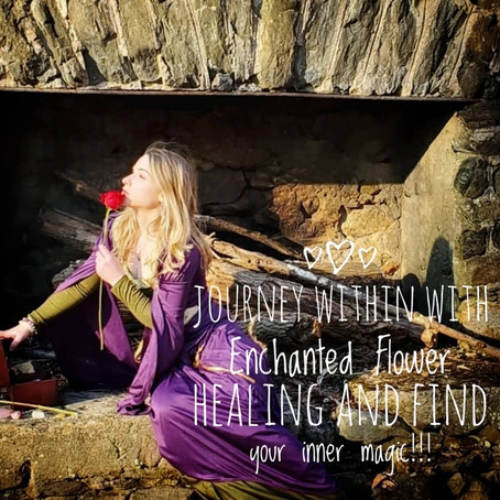 Journey within with Enchanted Flower Healing!!!