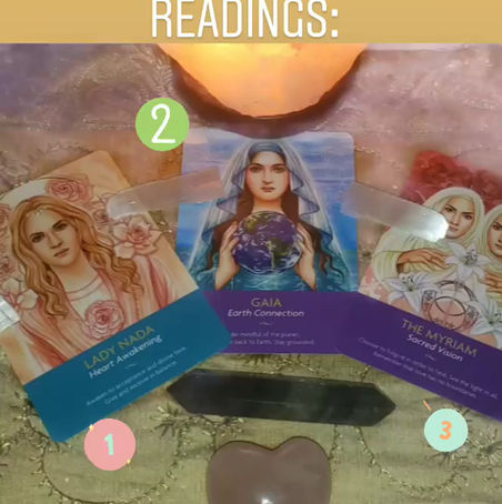 ⚘⚘Enchanted Flower Healing Self Card Readings: