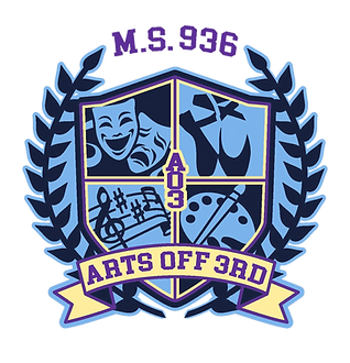 This is the logo for the school. Arts off 3rd.