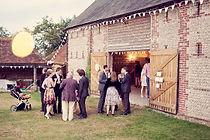Wedding reception at Peelings Manor Barns