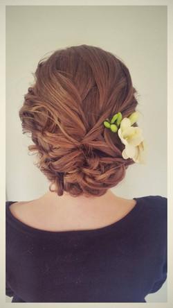 Most popular wedding hair
