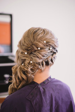 Hair accessories for the bride