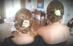 Picture perfect bridesmaid hair