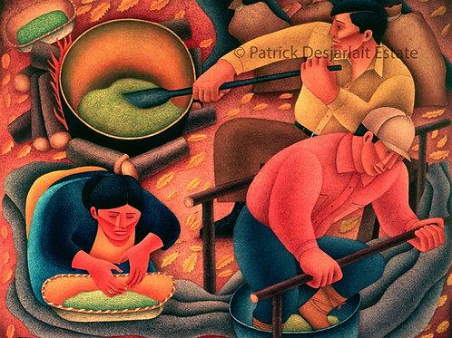 Making Wild Rice - 1946