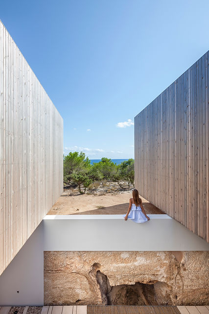 Lunawood Thermowood_Facade_Bosc d'en Pep