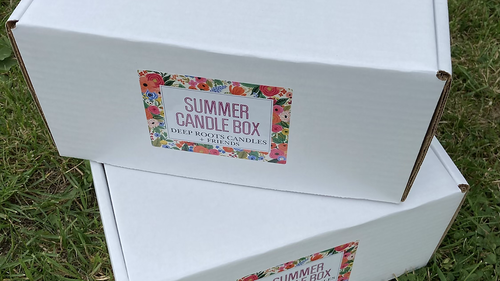 Summer Candle Box