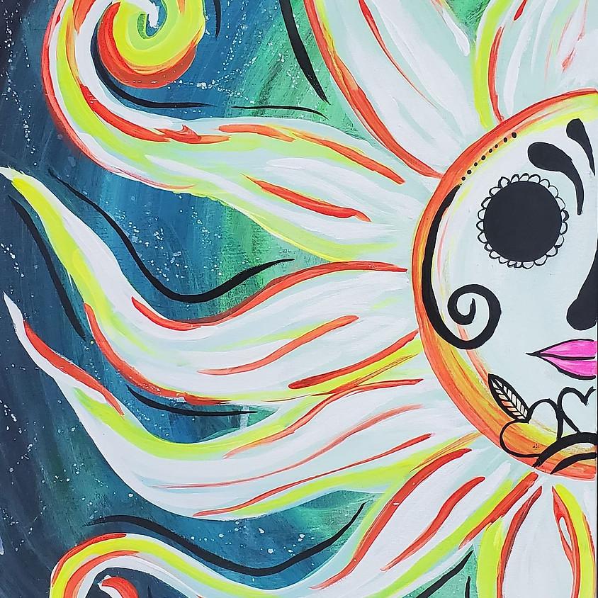Glow Party Paint 1/9 @ 6pm