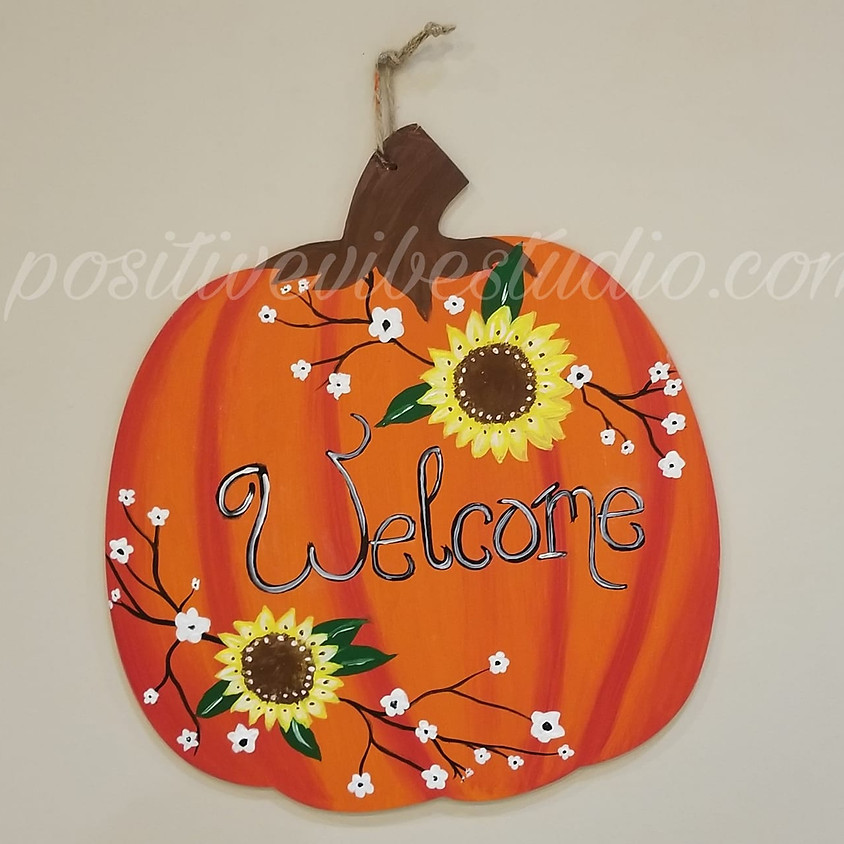 Pumpkin Sign Painting 11/1 @ 2pm