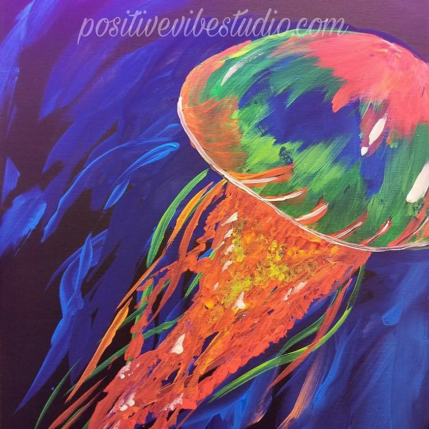 Glow Party Paint 4/3 @ 6PM