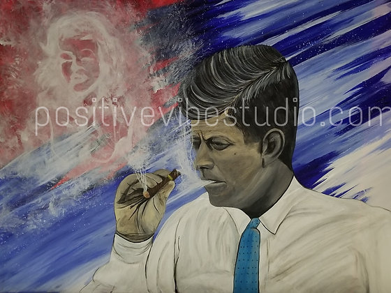 JFK Up in Smoke