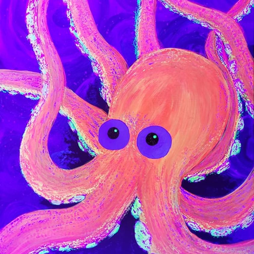 Glow Party Paint 7/24 @ 6pm