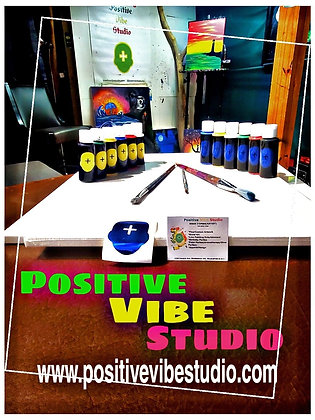 Aromatherapy Painting (Video & Supplies)