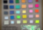 Psychedellic Colour Palette Derived from the Iridescent Spectrum of Light in Reflective Surfaces