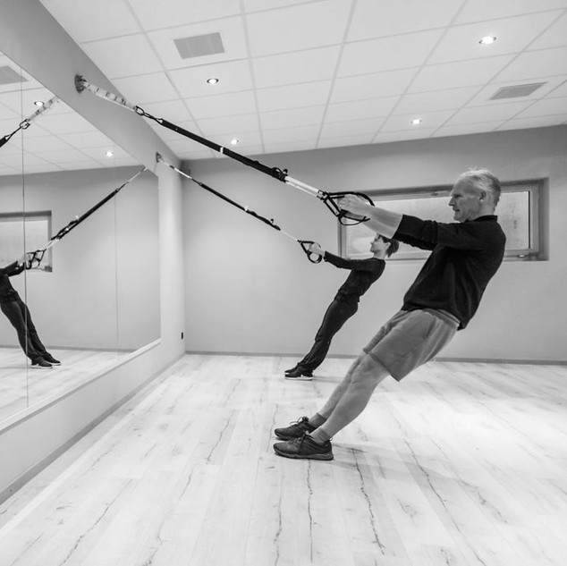 TRX Training Verbier