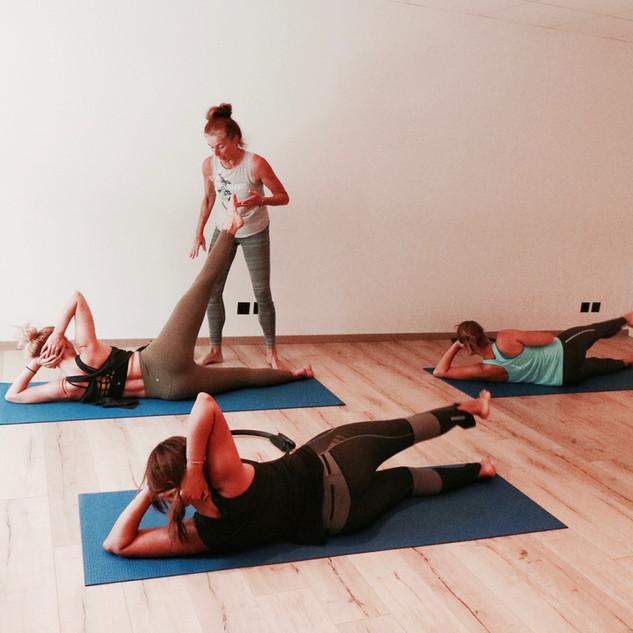 Wholeycow - Pilates Class