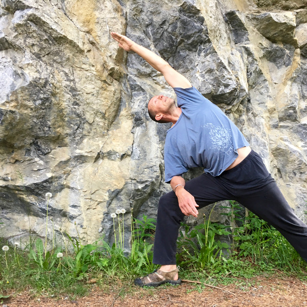 Yoga for Climbers Side Stretch