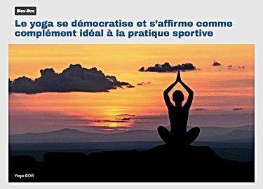 Rhone fm Inspire yoga festival